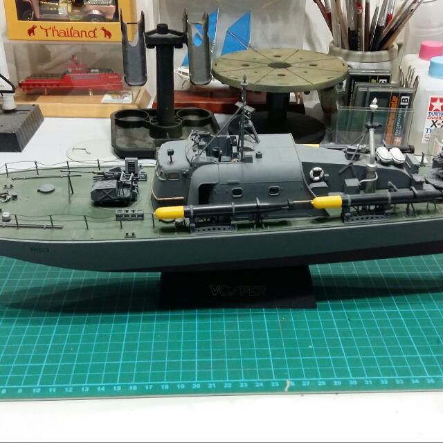 1:72 Tamiya Vosper Fast Patrol Boat