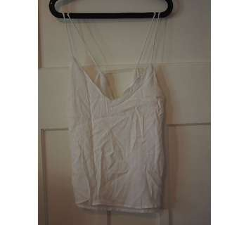 Cotton On white singlet size M
