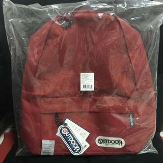 Outdoor 後背包 紅色 可議價