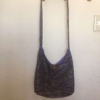 Blue Sling Bag From Vigan