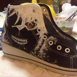 Hand Painted Tokyo Ghoul Shoes