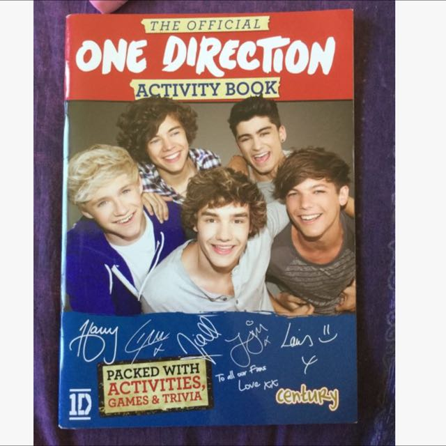 1D Offical Activity Book