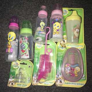 Baby Feeding Bottles & More SET