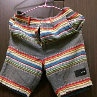 Hurley海灘條紋褲