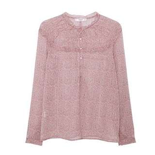SALE!!!! BRAND NEW WITHOUT TAGS Blush Pink Floral MANGO Top