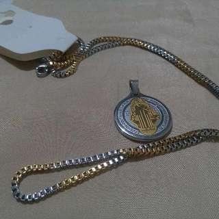 st benedict necklace