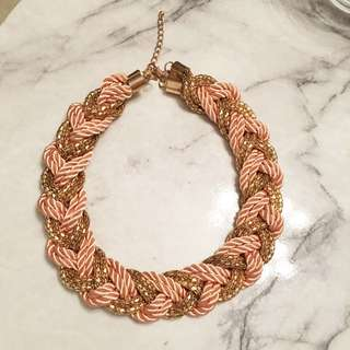 Gorgeous Pink Gold Necklace