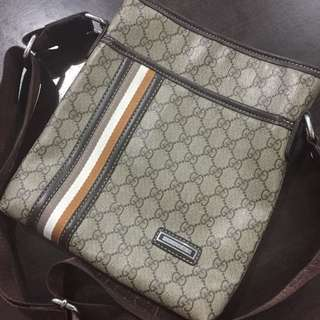 Gucci Monogram Sling Bag