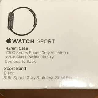 Apple Watch Sport - 1st Generation
