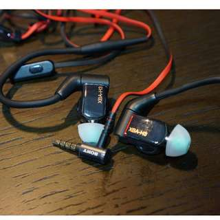 Sony XBA-H3 - Earphones with mic