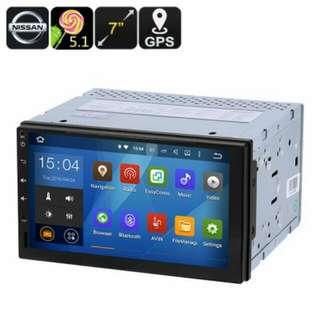 Universal Nissan 2 DIN Car Media Player - 7-Inch display, Android 5.1, GPS, Bluetooth, Google Play, FM Radio (CVAIO-C476)