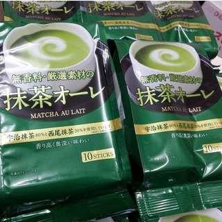 日本 日東抹茶歐蕾120g 10入