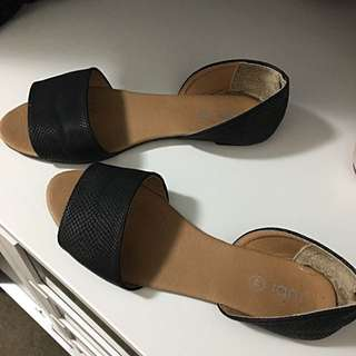 Black Flats Free With Any Purchase