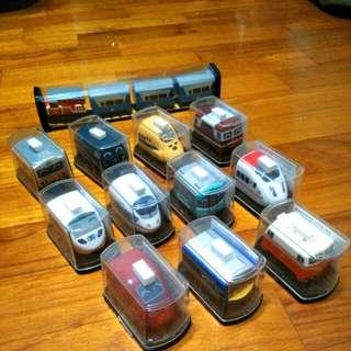 Q版火車模型(共12輛)