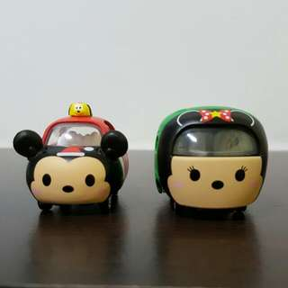 Disney Tomica  Tsum Tsum Christmas Edition Rare Mickey Minnie Mouse Brand New In Box SALE  ONLY RARE