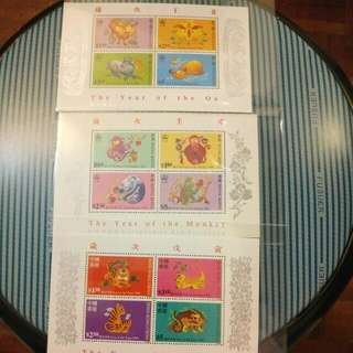 香港生肖郵票