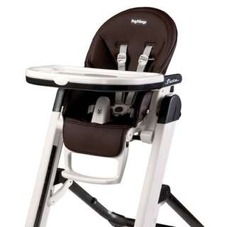 Brand New! In Box Peg Perego SIESTA High Chair in Cocoa