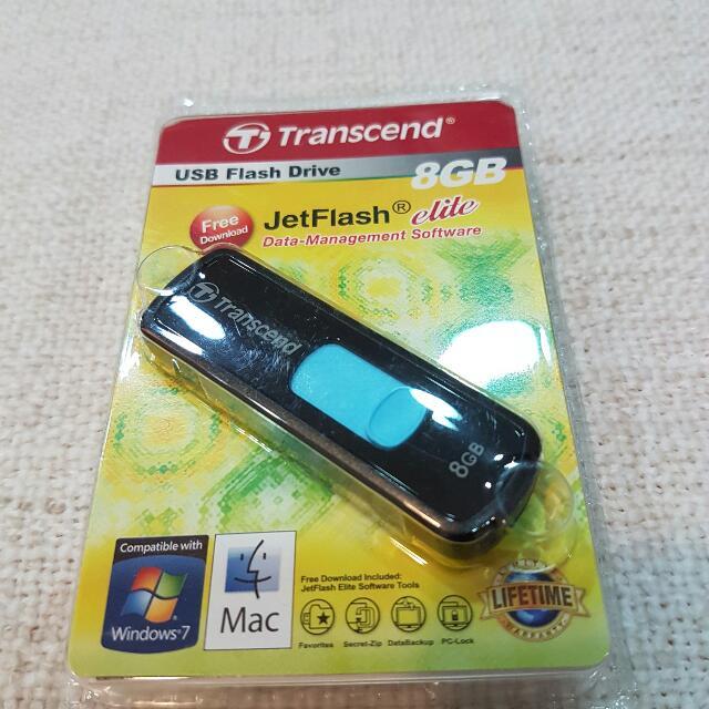 創見8G 隨身碟片USB