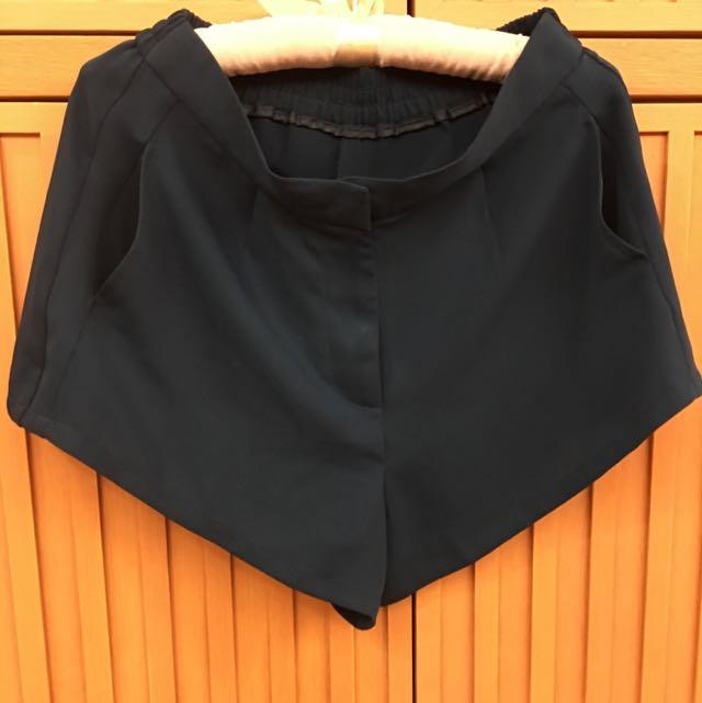 日本正綠雪紡短褲