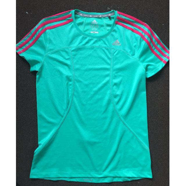 Adidas Climalite Activewear Top Aqua Size M (12-14)