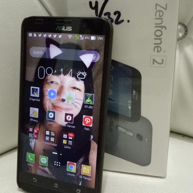 Asus Zenfone 2 Ram 4/32 4G Mulus