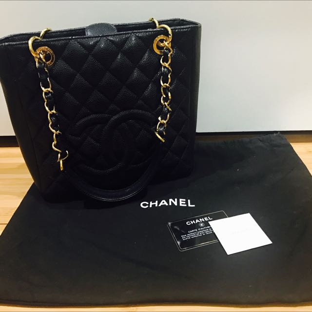 Authentic Classic Chanel Petite Tote Bag
