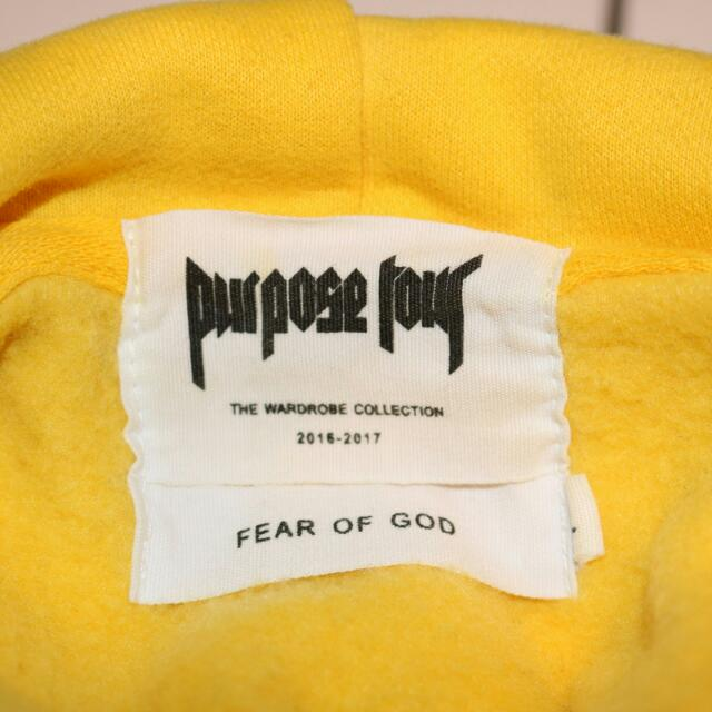 Purpose Tour Hoodie By FEAR OF GOD - VFILES