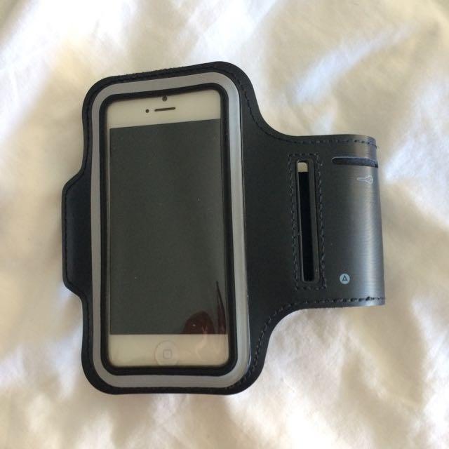 Black Running Arm Band Phone Holder