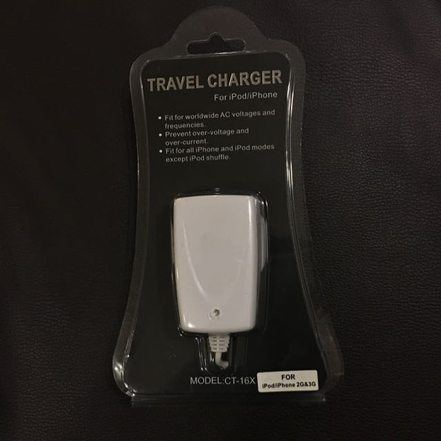 BN Travel Charger For iPhone/ iPod 2G/3G