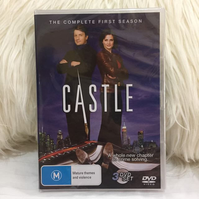 Brand New DVD Castle Season One