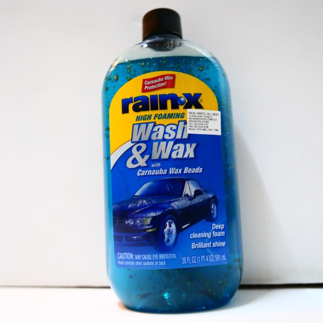 Brand New Rain X Wash & Wax w/ Carnauba