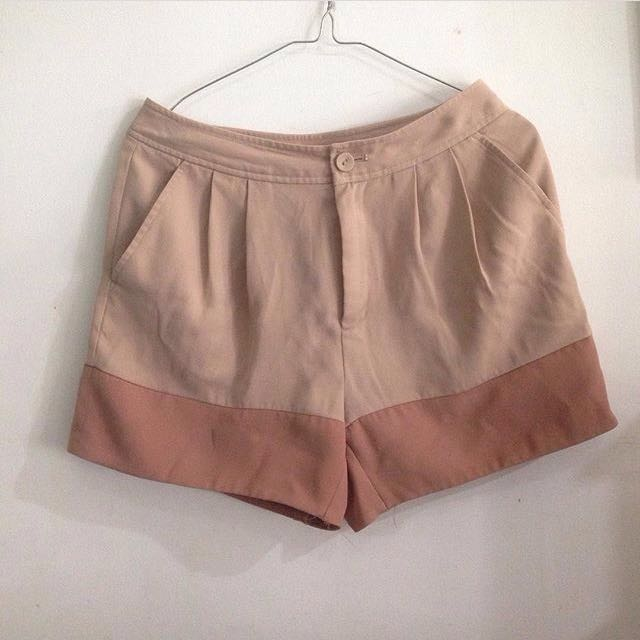 Brown Hotpants Uniqlo
