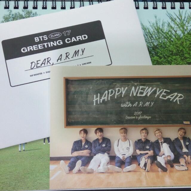 BTS Season's Greetings Card