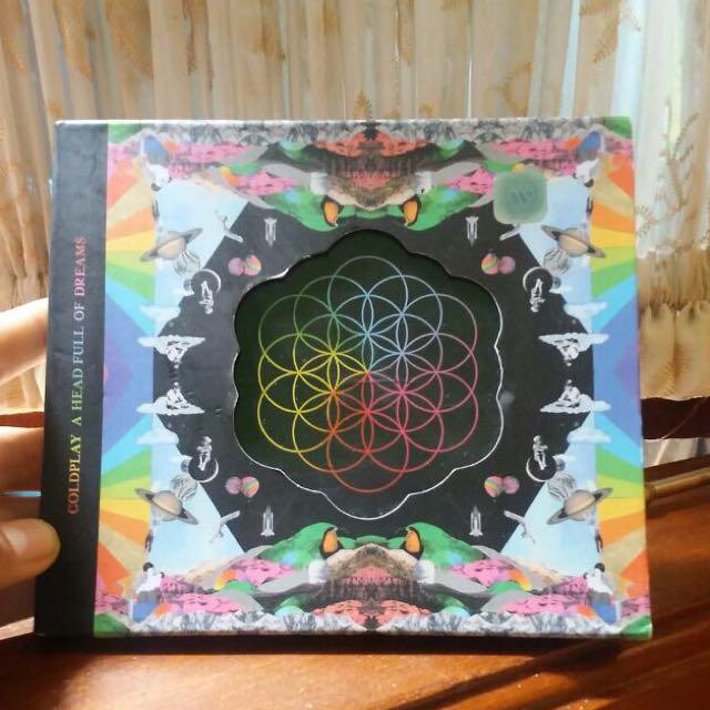 CD Coldplay A Head Full Of Dreams