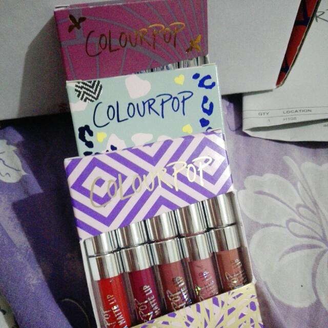 Colourpop Mini Kits
