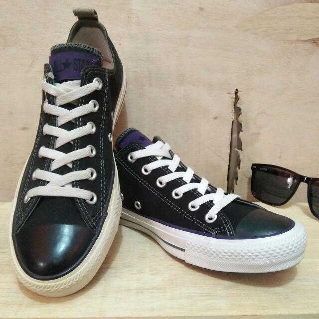 31695927ea47 Converse all star low black (limited edition) label all star ungu ...
