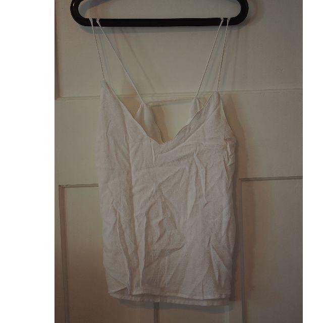 Cotton On white singlet size M