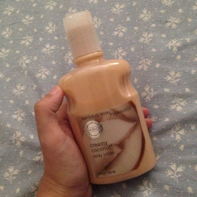 Creamy Coconut Lotion