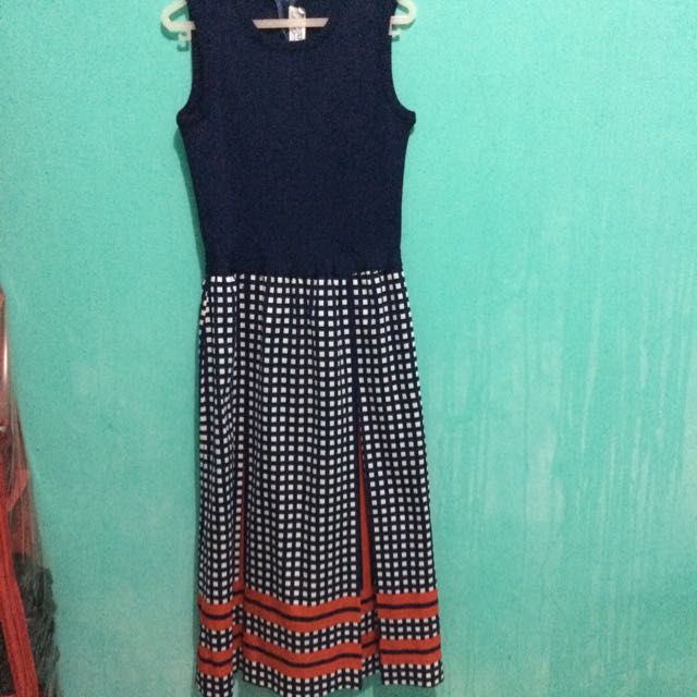 Dress Kotak-kotak