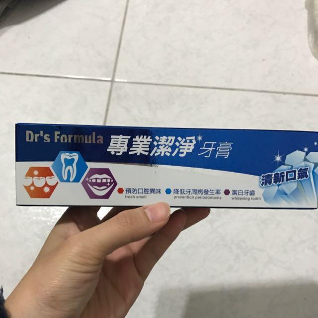 Dr's Formula牙膏