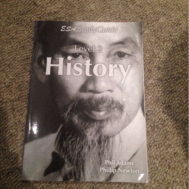 ESA Study guide level 2 history