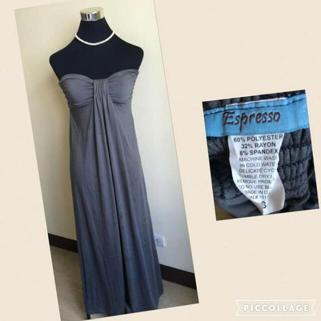 Espresso Maxi Dress