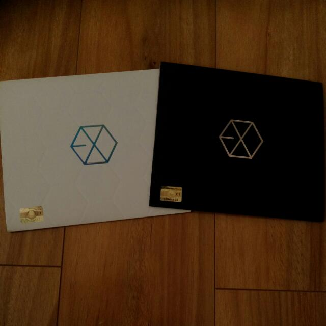 Exo K And M 1st Mini Albums