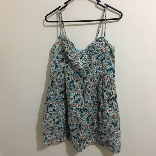 French Connection Daisy Print summer Dress
