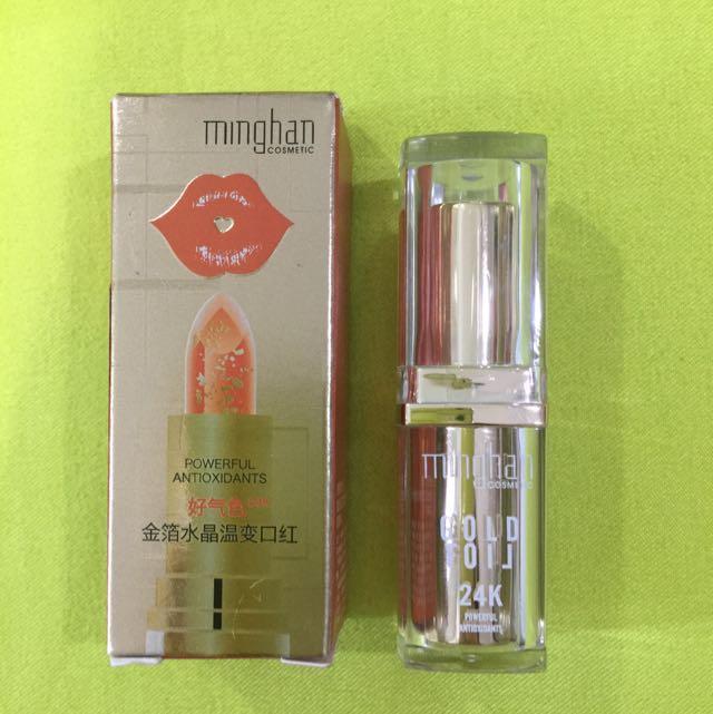 Gold Foil Lipstick