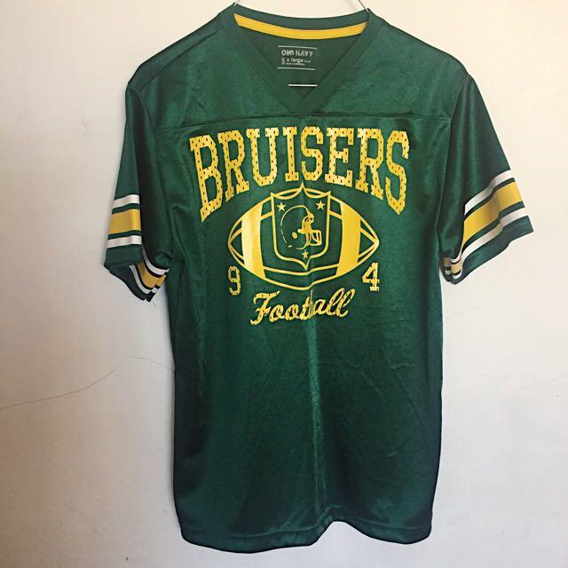 Green Old Navy Baseball Shirt