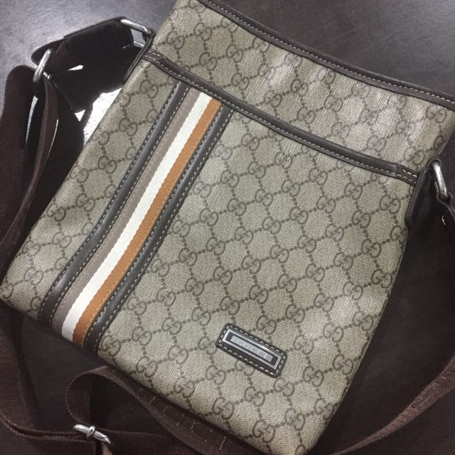Gucci Monogram Sling Bag
