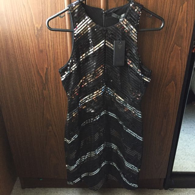 Guess Sequined Party Dress