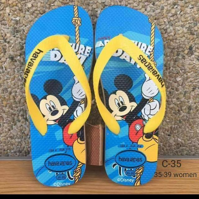 Havaianas Mickey Mouse Print