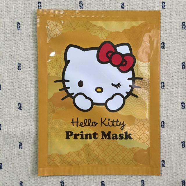 日本Hello Kitty面膜